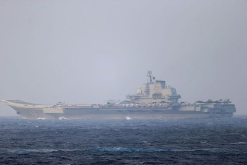 China's Massed Drills Near Taiwan Take Aim at Washington Audience