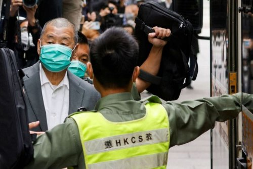 U.S. Condemns Sentencing of Tycoon Jimmy Lai, Other Hong Kong Activists