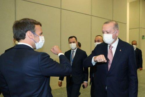 Macron Says Turkey's Erdogan Wants Foreign Mercenaries Out of Libya | World News | US News