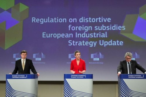 EU Unveils Plan to Cut Dependency on China, Others