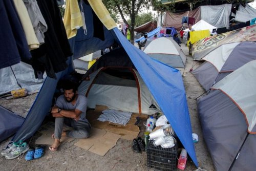 In a Mexican Border Camp, Asylum Seekers Wait for Biden to End Trump Health Directive | Top News | US News