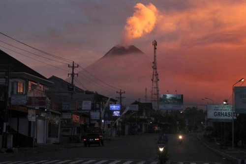 Lava Streams From Crater as Indonesia's Mount Merapi Erupts | World News | US News