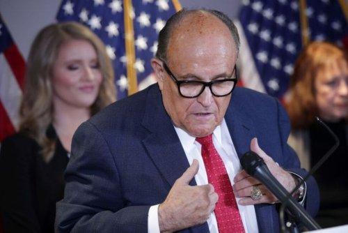 Giuliani Lawyers Attack Prosecutors, Searches in Ukraine Probe