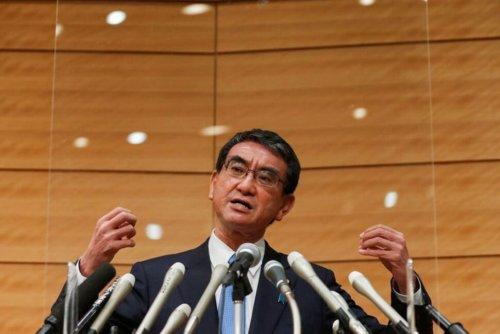 Factbox: Five Facts About Japan Prime Minister Hopeful Taro Kono