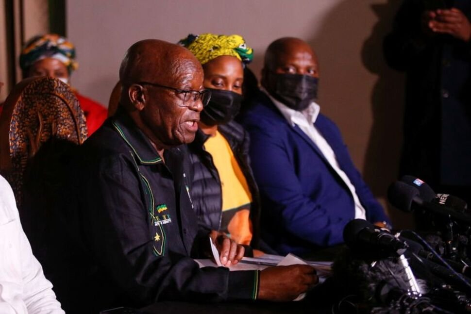 S.Africa's ANC Says Zuma Exploring Every Legal Avenue After Jail Sentence | World News | US News