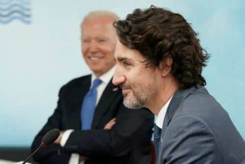 Canada's Trudeau Says He Discussed Border With Biden, but No Deal