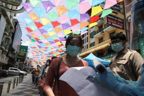 Thailand Reports Record Daily Rise With 1,543 New Coronavirus Cases