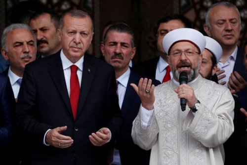 Turkey's Top Islamic Cleric Moves Centre Stage, Irking Secularists