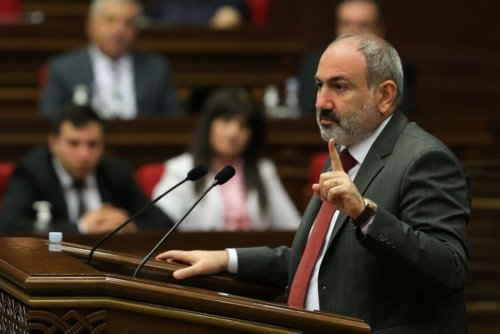 Armenian PM Pashinyan Asks Russia's Putin for Military Support - Ifax