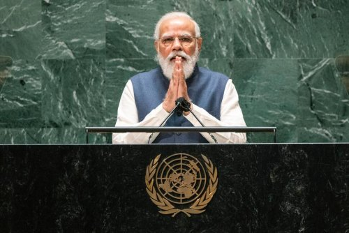 India's Modi Targets Neighbors at UN, but Not by Name