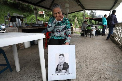 Mother Searches for Son Believed Killed by Colombia Soldiers