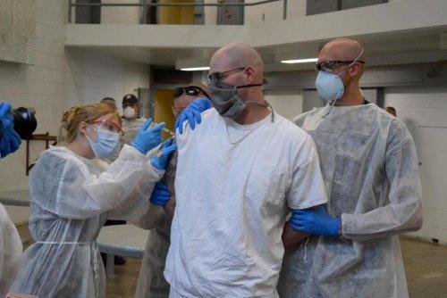 Dozens of People Held at Utah Prison Receive COVID Vaccines   Utah News   US News