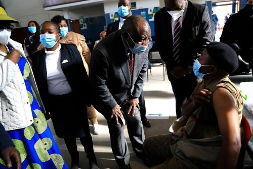 South Africa Quickens Vaccine Drive, Gets More Doses From US | World News | US News
