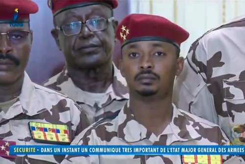 Chad Rebels Threaten to Depose Slain President's Son