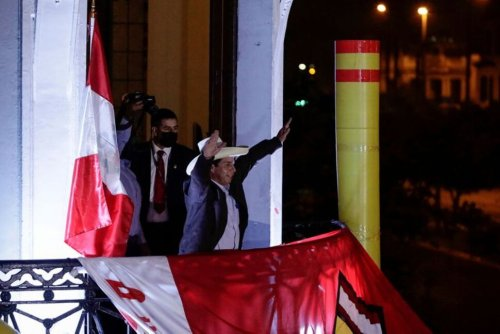 Another Pink Tide? Latin America's Left Galvanized by Rising Star in Peru   World News   US News