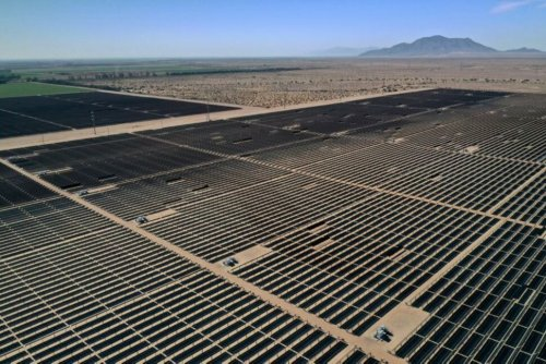 U.S. Approves Massive Solar Project in California Desert