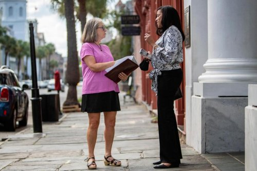 At SC Historic Marker, 2 Women Trace Their Family Histories