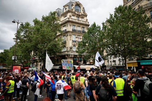 Thousands Protest Against COVID-19 Health Pass in France | World News | US News