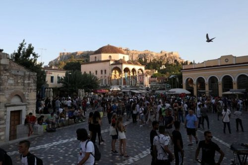 Greece Slaps Restrictions on Two Tourist Islands to Curb COVID   World News   US News