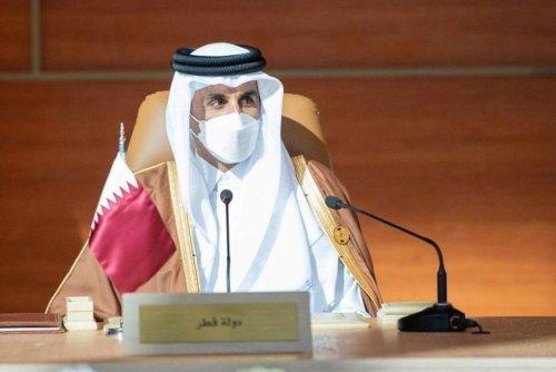 Qatar's Emir Visits Saudi Arabia, Emir's Office Says in Statement