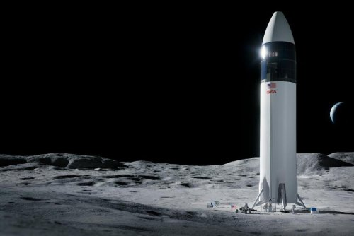 Bezos Loses Appeal of NASA's Plans to Use Musk Moon Lander   Business News   US News
