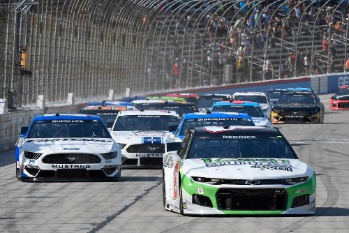 1st-Timers Chastain, Reddick Race Into NASCAR All-Star Event