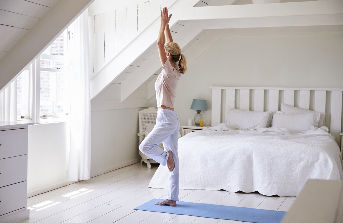 A Guide to Home Yoga - cover