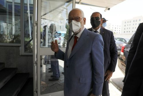 Tunisia's Parliament Speaker and Head of Islamist Party Transferred to Hospital   World News   US News