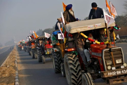 Indian Farmers Aim for Nationwide Protests Against Reforms on Monday