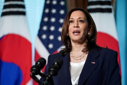 Harris Will Reject China's Claim in the South China Sea During Trip to Asia | World News | US News