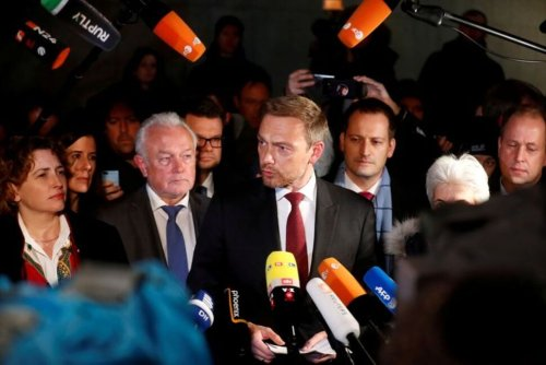 Germany's Small Liberal Party Eyes Big Role in Merkel Succession