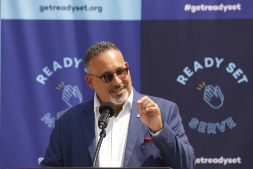 The Road to Recovery Meets the Road of Reality on Miguel Cardona's Back-to-School Tour