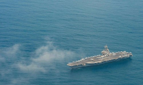 Carrier USS Ronald Reagan Leaves Middle East After Almost 3 Months; Essex ARG, 11th MEU Enters the Persian Gulf