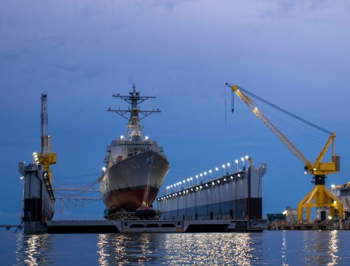 Pentagon, Navy Conducting Parallel Fleet Studies Ahead of Next National Defense Strategy