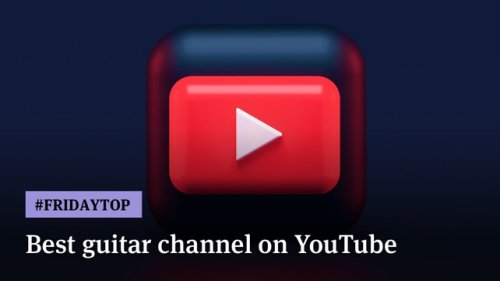 Friday Top: 20 Best Guitar Channels On YouTube