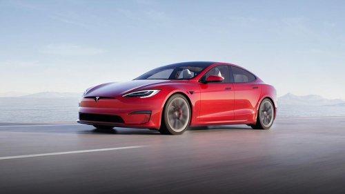 Elon Musk's Tesla reveals high-end Model S 'Plaid' to fend off Mercedes and Porsche