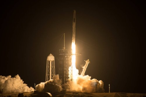 SpaceX successfully launches reused Dragon spacecraft on a NASA mission