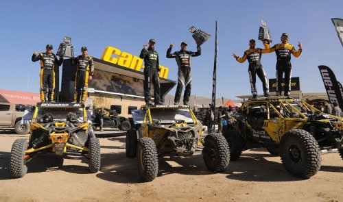 Can-Am Racks up Another Insane Result at King of the Hammers