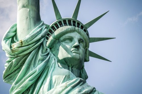 A mini Statue of Liberty is making its way from France to the US