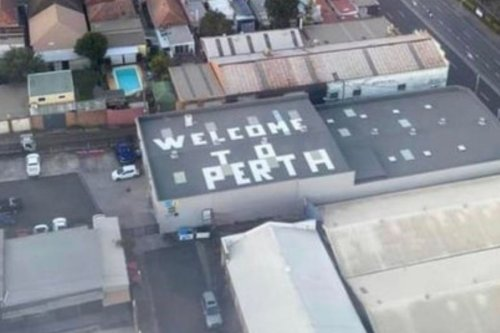 Man behind 'Welcome to Perth' prank reveals how expensive the sign really was