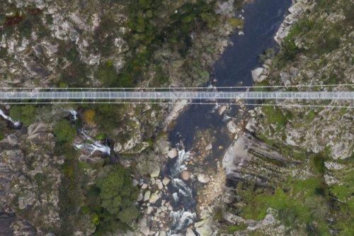 Arouca Bridge Portugal is the world's longest suspension bridge