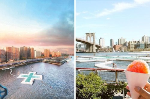 New York just approved a swimming pool in the East River