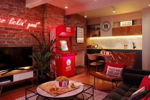 KFC hotel opens in London with FREE chicken   Vacations & Travel