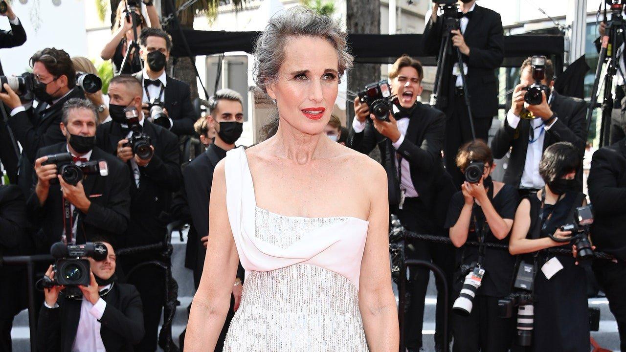 Andie MacDowell à Cannes 2021 : L'actrice éblouit le Festival de Cannes avec sa chevelure argentée