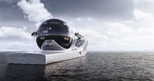 Lifestyle : Visite d'Earth 300, le superyacht à 700 millions de dollars, petit bijou de design et de technologie