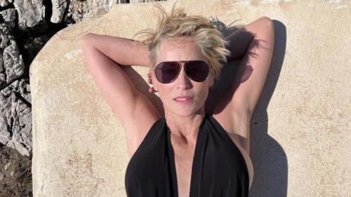 Sharon Stone : Maillot de bain ultra-chic et photo sans filtre, à 63 ans, elle enflamme Instagram