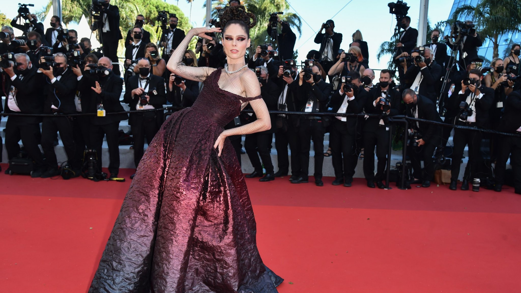 Festival de Cannes 2021 : La montée des marches d'Aline de Valérie Lemercier