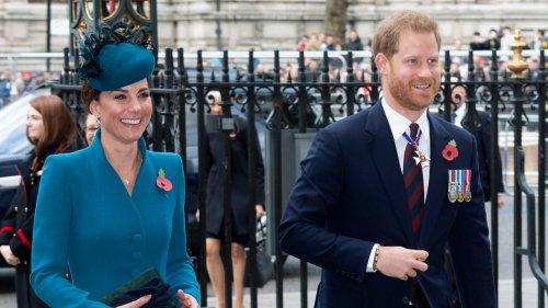 Kate Middleton va prendre la suite de Harry à un poste où on ne l'attendait pas