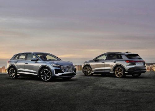 Audi Q4 e-tron: arrivano i primi due suv compatti a zero emissioni - VanityFair.it