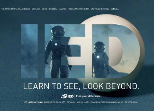 «Learn to see, look beyond», la nuova campagna dell'Istituto Europeo di Design invita a guardare oltre - VanityFair.it